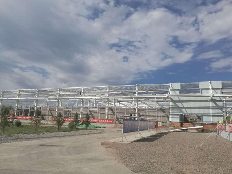 已建——三元乳业厂房项目