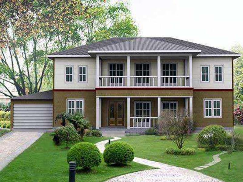 钢结构别墅建筑